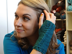 Flat Knit Mitts PDF