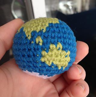 Ravelry: Mini Globe Amigurumi pattern by Kat Perdue