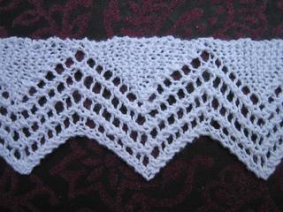 Vandyke Lace Knitting Pattern : Ravelry: knitted lace edgings: vandyke border pattern by ...