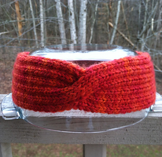 Knitted Headband Pattern On Circular Needles : Ravelry: Anthro-tastic Headband pattern by Vera Sanon