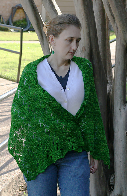 Old Vine Stole - knit pattern