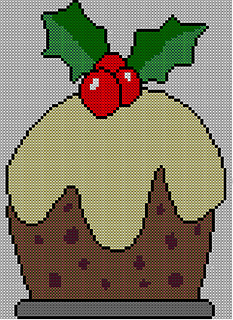 Knitting Pattern For Christmas Pudding Jumper : Ravelry: Christmas Pudding Jumper / Sweater Knitting Pattern #3 pattern by Bl...