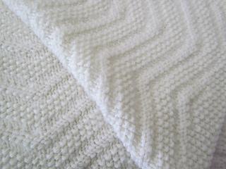 Upsy Daisy Knitting Pattern : Ravelry: Upsy-Daisy Reversible Baby Blanket pattern by Krista Werbil
