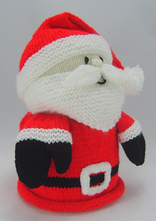 Ravelry: Santa Toilet Roll Holder pattern by Knitting by Post