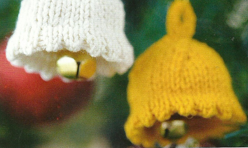Ravelry christmas bell pattern by jane burns for Knitted christmas bells