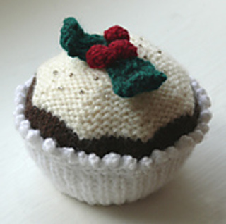 Ravelry: Christmas Cupcake pattern by Knitting Revolution