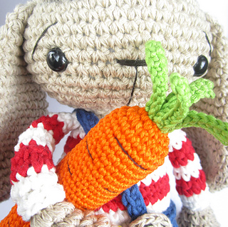 Free Amigurumi Carrot Pattern : Ravelry: Crocheted carrots pattern by Kristi Tullus
