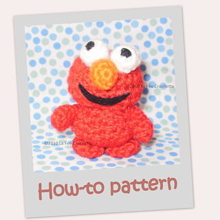 Ravelry: Amigurumi Sesame Street Elmo pattern by Nelly ...