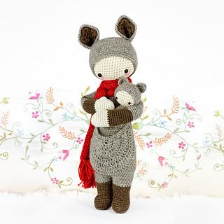 Amigurumi Dolls By Artist Lydia Tresselt : Ravelry: KIRA Kangaroo N? VII pattern by Lydia Tresselt