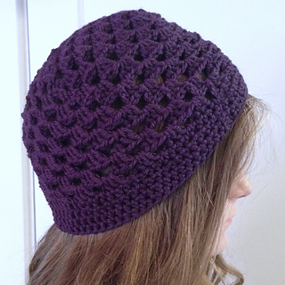 Crochet Granny Square Hat Pattern Free : Ravelry: Granny Square Hat Crochet Tutorial pattern by ...