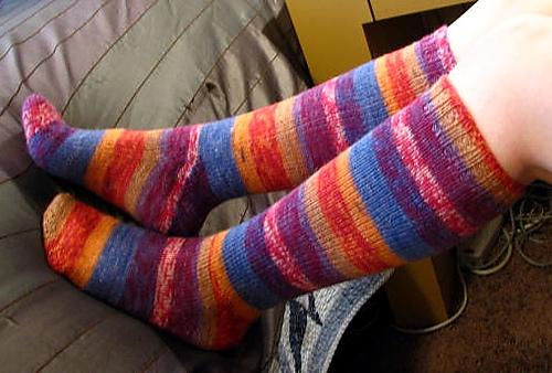 Free Knitting Pattern For Toe Up Socks On Magic Loop : Weekly Work in Progress Thread - October 21, 2015 : knitting