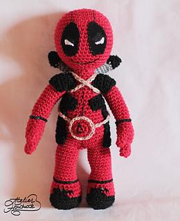 Deadpool Knitting Pattern : Ravelry: DeadPool toy pattern by Atelier Handmade