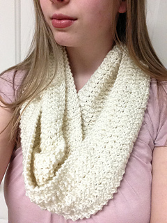 Aran Infinity Scarf Knitting Pattern : Ravelry: The Michelle Infinity Scarf pattern by Little ...