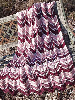 Ravelry Jacob S Ladder Ripple Afghan Pattern By Heather
