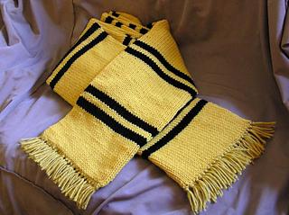 Harry Potter Hufflepuff Scarf Knitting Pattern : Ravelry: Prisoner of Azkaban Style Scarf pattern by ...