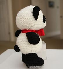 Amigurumi Free Patterns Pokemon : Ravelry: Amigurumi Crochet Pattern - Baby Panda pattern by ...