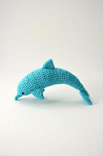 Crochet Dress Pattern For American Girl Doll : Ravelry: Dolphin pattern by Joyce Overheul