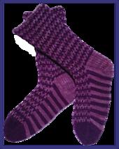 Purpliscious Socks PDF