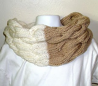 Knit Picky Patterns From Allfreeknitting : Ravelry: Cabled Cowl pattern by louise felice