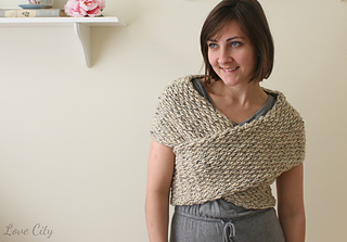 Free Crochet Pattern Wrap Sweater : Ravelry: Wrap Sweater pattern by Lindsay Haynie