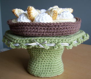 Ravelry Cake Plate And Cakes Pattern By Sally Byrne