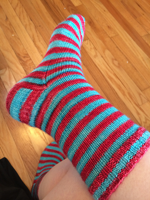 Christmas Stripe Socks