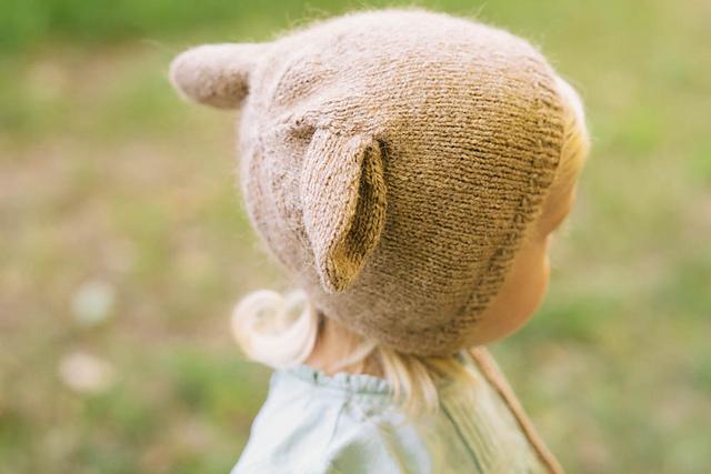 bonnet pour enfant Doe Cap by Jenny Gordy