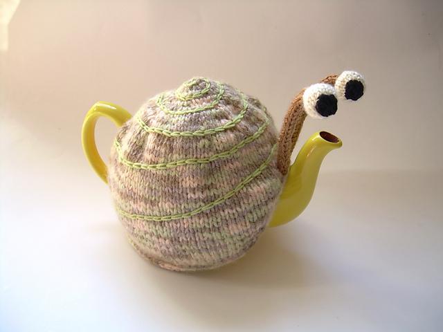 Грелка на чайник улитка своими руками 87