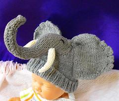 Elephant Ears Knitting Pattern : BABY BEANIE WITH EARS KNITTING PATTERN   KNITTING PATTERN