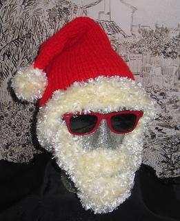 Ravelry: Bearded Santa Superfast Hat pattern by Christine ...