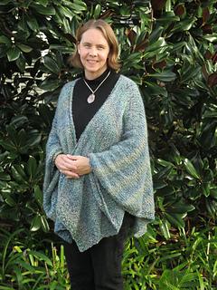 Ravelry Restful Ruana Pattern By Kay Meadors