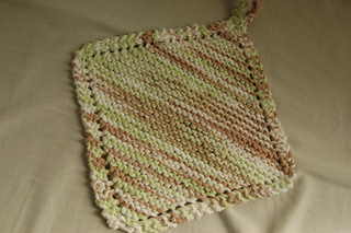 Ravelry Knit Dishcloth And Blanket Pattern By Carol Duvall