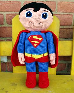 Knitting Pattern Superman Doll : Ravelry: Super Buddy - Kid Hero pattern by Mary Smith