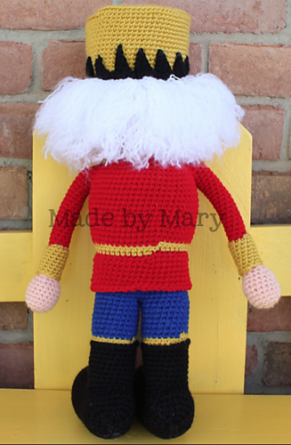 Ravelry: Nutcracker Amigurumi pattern by Mary Smith