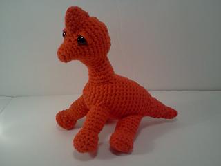 Ravelry: Jacob Brachiosaurus Stuffed Dinosaur Amigurumi ...