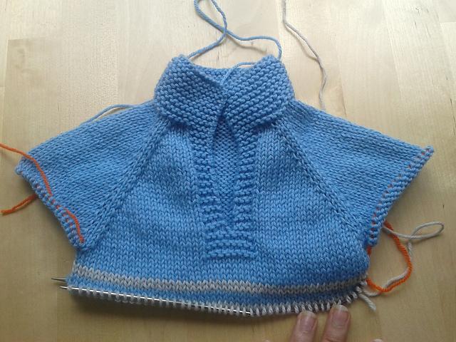 Apuros de una tejedora compulsiva: Jersey de bebe Telemark
