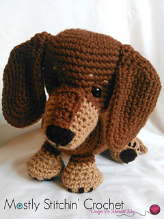 Ravelry: Dash the Dachshund Pup pattern by Meredith May