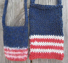 Ravelry: Small Double Knit Bag pattern by Kathryn McConaghie