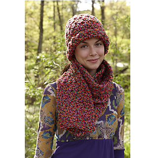 Ravelry: Berry Bloom Hat and Scarf (Scarf) pattern by Lion ...