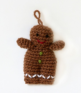 Amigurumi Pattern Person : Ravelry: Amigurumi Gingerbread Person pattern by Lion ...