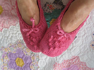 Ravelry: Raspberry Bed Socks pattern by Mel Clark