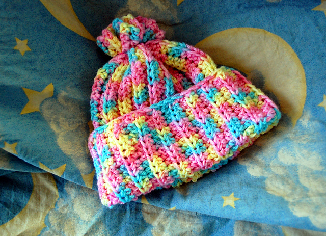 Cotton Candy Cold Snap Cap