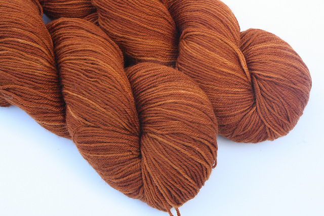 "KRDyeworks ""Warmth"" on Merino Nylon Sock - 2 skeins available"