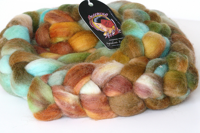 """Becoming Art """"Turtle Cove"""" on BFL Top - 8oz"""