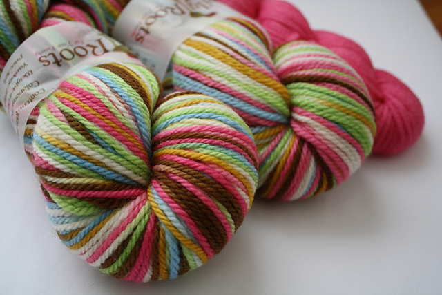 "Family Roots ""TiHMILY w/Pink V2"" on BFL Aran"