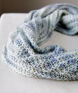 Infinity Scarf Knitting Pattern Ravelry : Ravelry: Opul Infinity Scarf pattern by Megan Goodacre