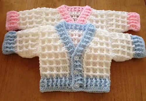 cd50bd8b23fd Craft Passions  Peyton Preemie Cardigan..  free   crochet pattern ...