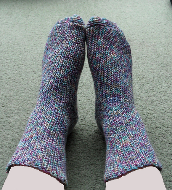 Stretchy Crochet Socks