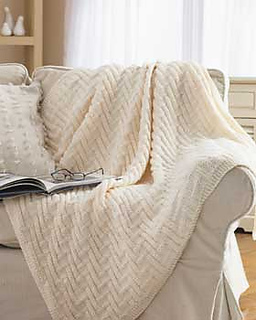 Ravelry Simple Chunky Blanket 3826 2405 Pattern By