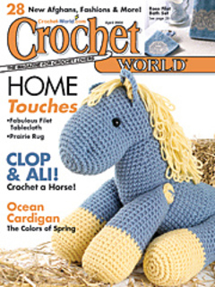 Crochet World : patterns > Crochet World Magazine > Crochet World Magazine, April 2004